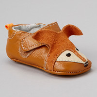 Tan Suede Fox Bootie