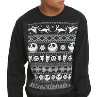The Nightmare Before Christmas Fair Isle Sweatshirt