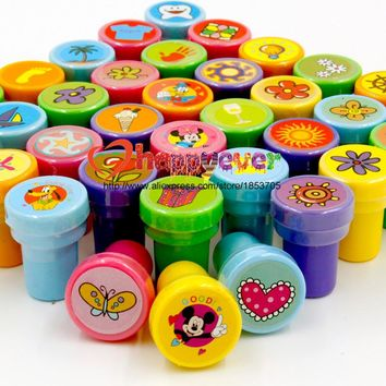 Felizever 36PCS Self-ink Stamps Kids Party Favors Event Supplies for Birthday Party Toys Boy Girl Goody Bag Pinata Fillers