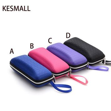 Eyewear Cases cover sunglasses case for women glasses box with lanyard zipper eyeglass cases for men sunglasses accessories