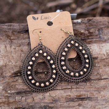 Rosella Earrings in Gold