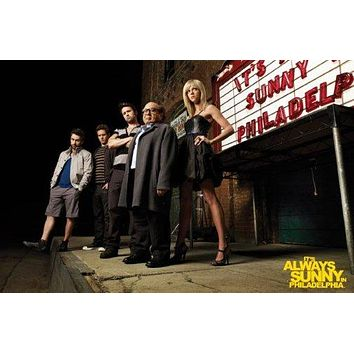 Its Always Sunny In Philadelphia Poster Marquee 24x36