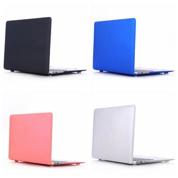 Laptop Case Cover For Apple macbook Air Pro Retina 11 12 13 For Mac book Pro  inch with Touch Bar + keyboard cover