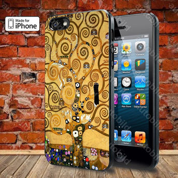 Gustav Klimt Tree of Life Case For iPhone 5, 5S, 5C, 4, 4S and Samsung Galaxy S3, S4