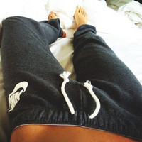 """NIKE"" Fashion Strappy Pants Trousers Sweatpants"