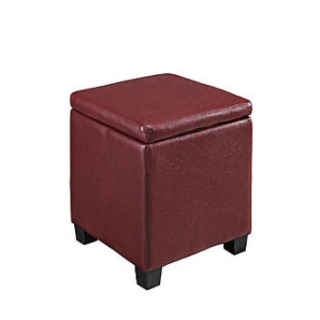 Linon Jamelia Brown Storage Ottoman: Multipurpose Furniture at Kmart