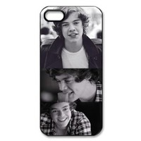 CTSLR Music & Singer Series Protective Hard Case Cover for iPhone 5 - 1 Pack - One Direction - Harry Styles 2