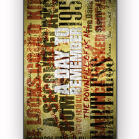 A Day To Remember Song for iPhone 4/4S Case **