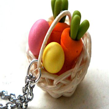 Easter Basket Necklace