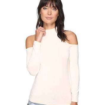 BB Dakota Edell Cold Shoulder Top Peach Blossom - Zappos.com Free Shipping BOTH Ways