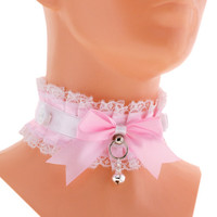 Kitten play collar, bdsm, DDLG, Petplay 1M