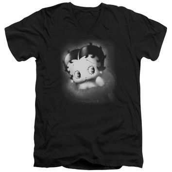 Betty Boop - Vintage Star Short Sleeve Adult V Neck