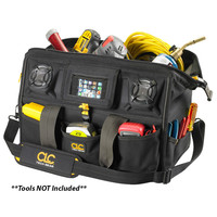 "CLC A233 Tech Gear Stereo Speaker 18"" Megamouth Tool Bag"