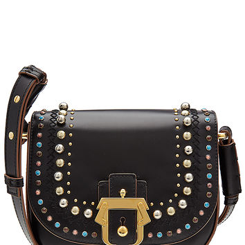 Paula Cademartori - Embellished Leather Shoulder Bag