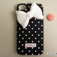 iPhone 4 case, iPhone 4s case, cute iPhone 4 case, bow iPhone 4s case,unique iPhone 4 cases