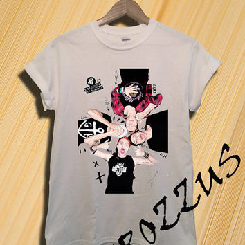 NEW 5 Seconds Of Summer Shirt 5 SOS Shirt T-shirt Tee Shirt White Color Unisex Size - NK55