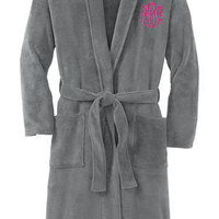CUSTOM Monogrammed Bath Robe -- Sorority/Fraternity Letters or Initials!