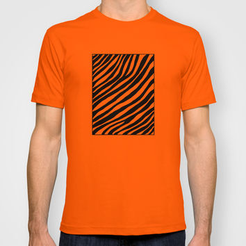 Zebra T-shirt by Cinema4design