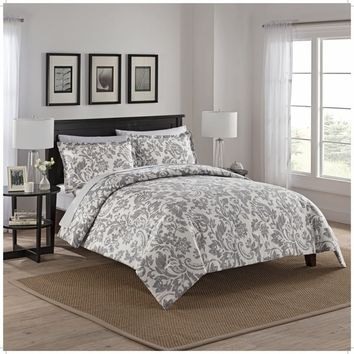 Marble Hill Tanner Reversible 3 Piece Comforter Set | Overstock.com Shopping - The Best Deals on Comforter Sets