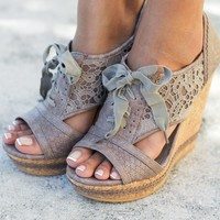 Addilyn Gray Wedges