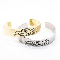 Luck Elephant bangle bracelet