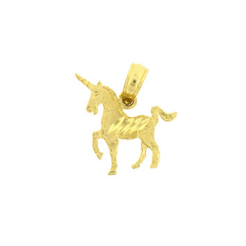 14K GOLD ANIMAL CHARM - UNICORN #1900