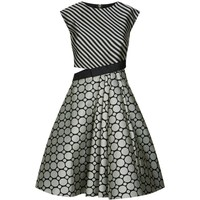 Ted Baker Reetah Jacquard Dress | Harrods.com