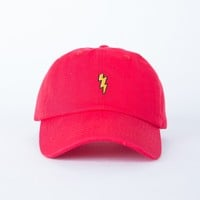 Patched Lightning Bolt Cap