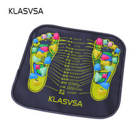 KLASVSA Reflexology Walk Stone Foot Leg Pain Relieve Relief Walk Massager Mat Health Care Acupressure Mat Pad massageador