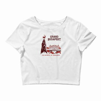 grand budapest hotel Crop Top