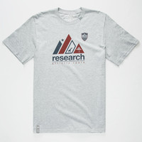 Lrg Research Roots Mens T-Shirt Heather  In Sizes