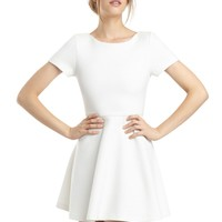 alice + olivia | SHANE CAP SLEEVE DRESS