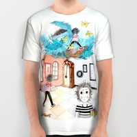 The Time Machine All Over Print Shirt by VinceGabriel | Society6