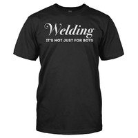 Welding - It's Not Just For Boys