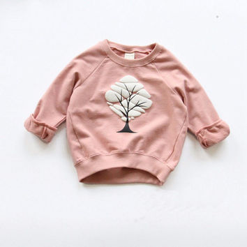 Boys Girls Sweatshirts Baby Children Clothes Cotton Casual Kids Sweatshirts Hoodies Tops SM6