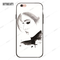Pouty Girl Phone Case for iPhone 6 7 6Plus 5S SE