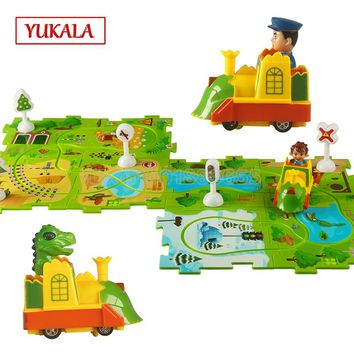 Puzzle Vehicle Play set