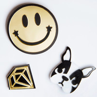 Diamond In The Woof Pin Set
