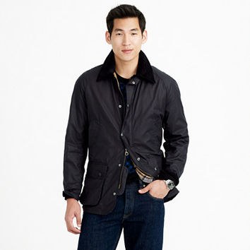 J.Crew Mens Barbour Sylkoil Ashby Jacket