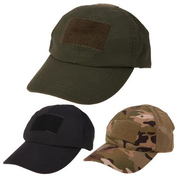 Embroidered 3D Logo Anti UV Sports Hat Molle Military Camouflage Tactical Climbing Cap Hats Badge Retro Camo Outdoor Sports Cap