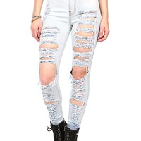 Storm Shred High Waist Skinnys