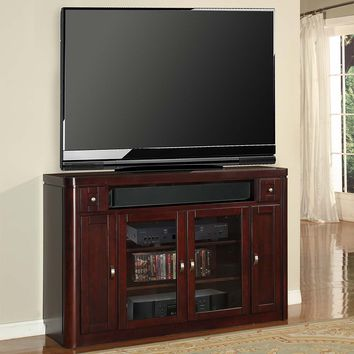 "Toronto 62"" TV Stand / Console (Tall) Cabernet"