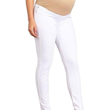 Full-Panel Maternity Skinnys