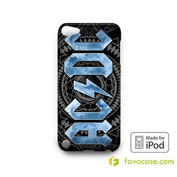 ACDC Rock Band AC/DC  iPod Touch 4 5 6 Case