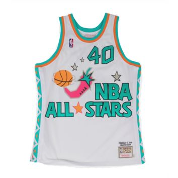 NBA Mitchell & Ness Shawn Kemp Authentic Jersey 1996 All Star