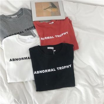 NORMAL TROPHY TEE (4 colors)