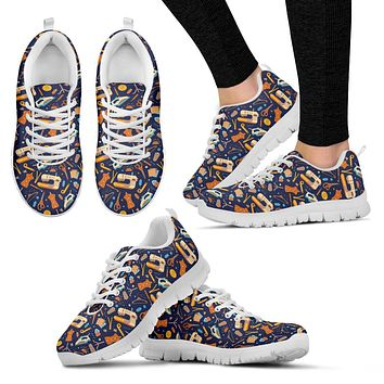 Sewing Pattern Sneakers-Clearance