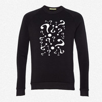 riddler fleece crewneck sweatshirt
