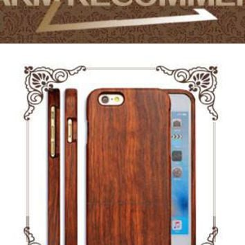Fashion Wood Phone Cases For Iphone 5 5s SE 6 6s Plus Case Ultra thin Durable Soft TPU Silicone PU Wooden Back Cover Shell Capa