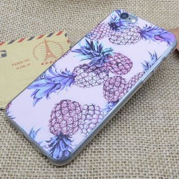 Fruits Pineapple iPhone 5se 5s 6 6s Plus Case Cover + Nice Gift Box 281-170928